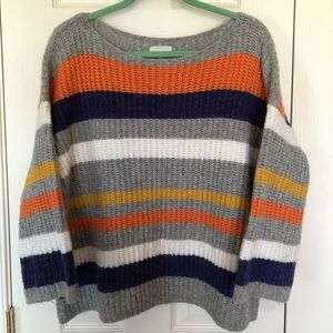 [ L&G ] Cozy Stripe Pullover